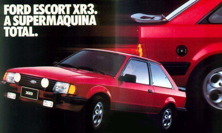 Ford Escort XR3 ele marcou uma época