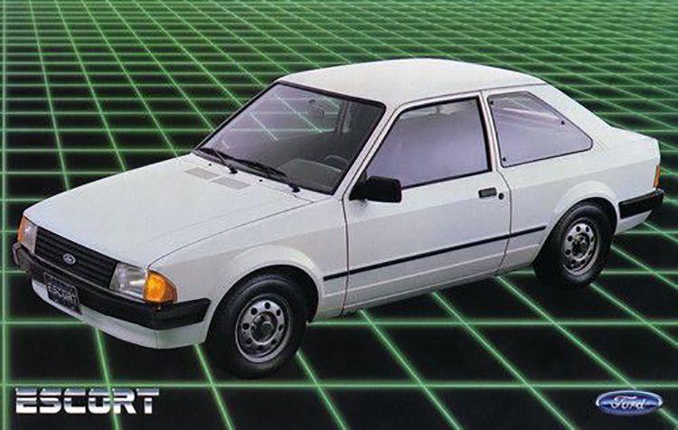 escort gl 1984 motor tudo--ford-escort-car-posters