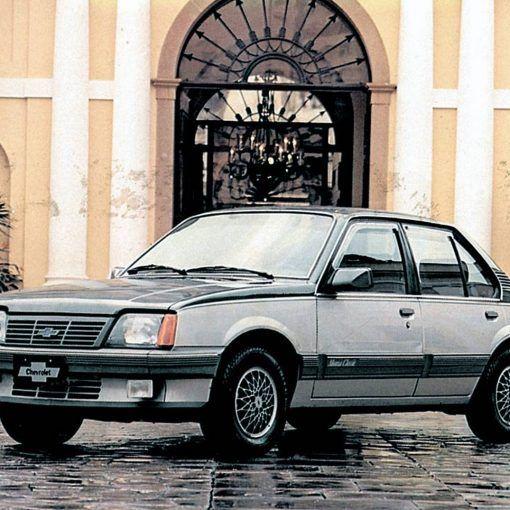 Monza Classic 1988 feito para poucos.