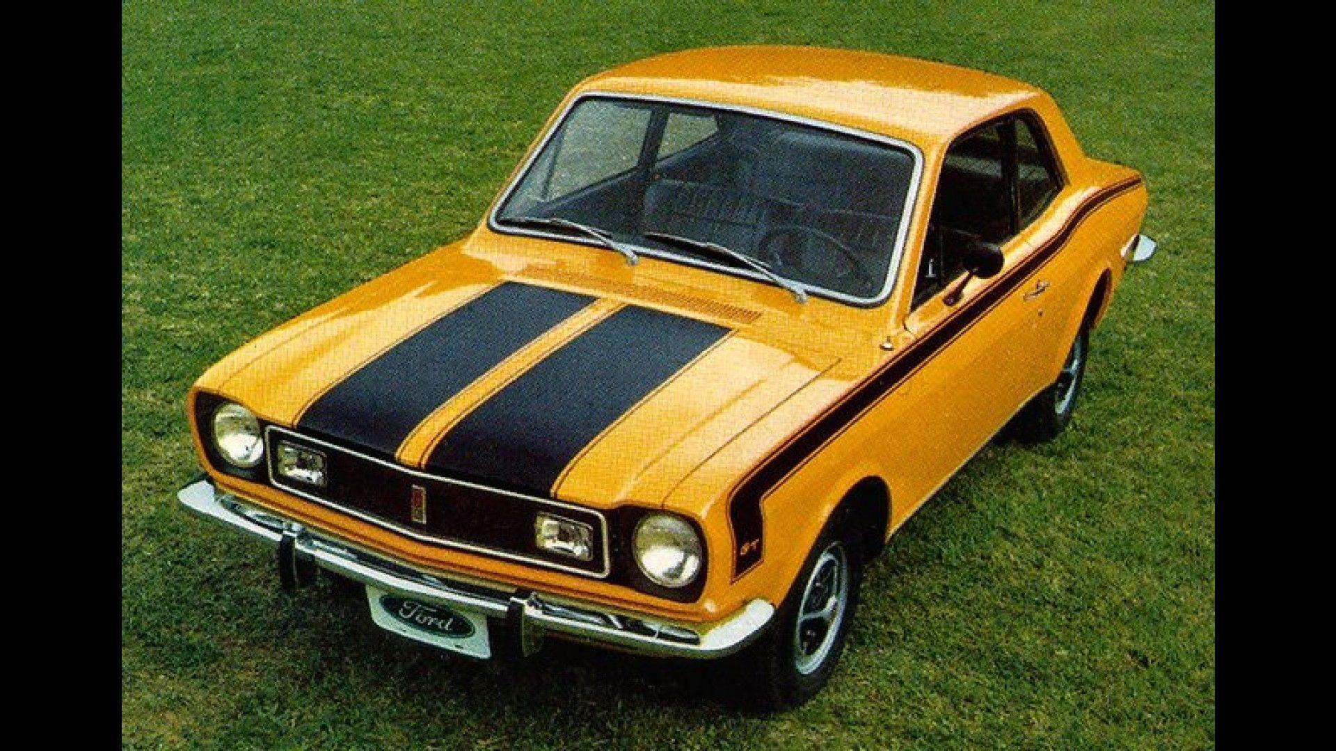 Ford Corcel GT 1975 motor tudo