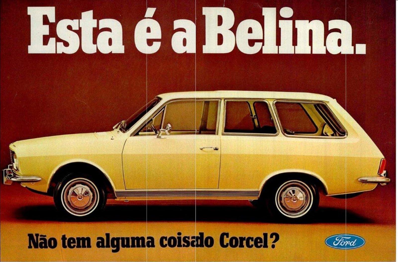 ford-corcel-belina motor tudo