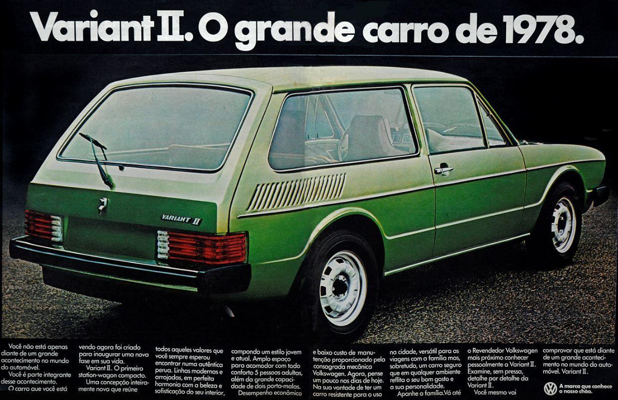 variant II 1978 motor tudo