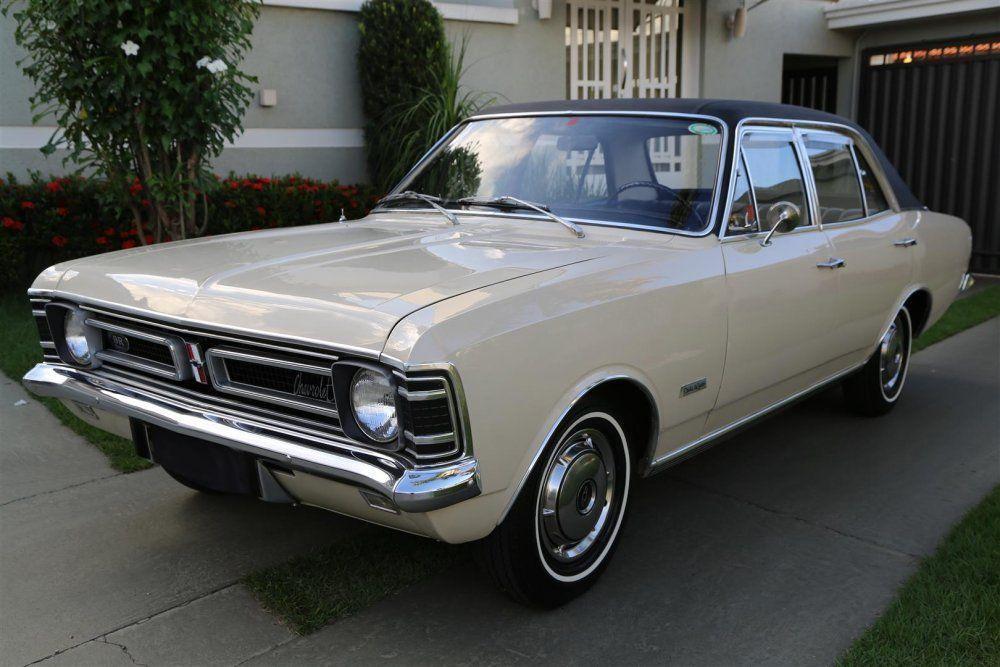 Chevrolet Opala de luxo 2500 1972 Motor Tudo (28)