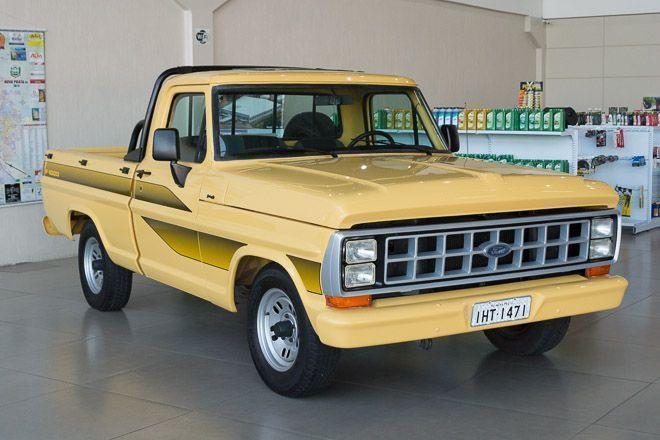 Ford F - 1000 1989 Pequena vantagem em desempenho em relação a sua concorrente