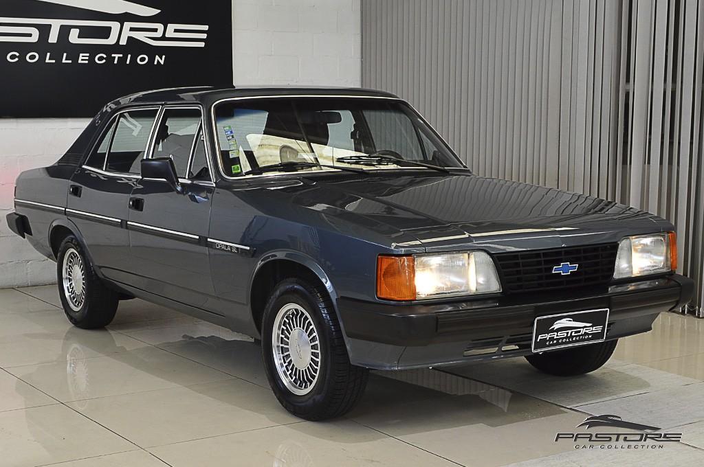 Chevrolet Opala SL 2.5 1989 Luxo e conforto custando menos que Monza e Santana