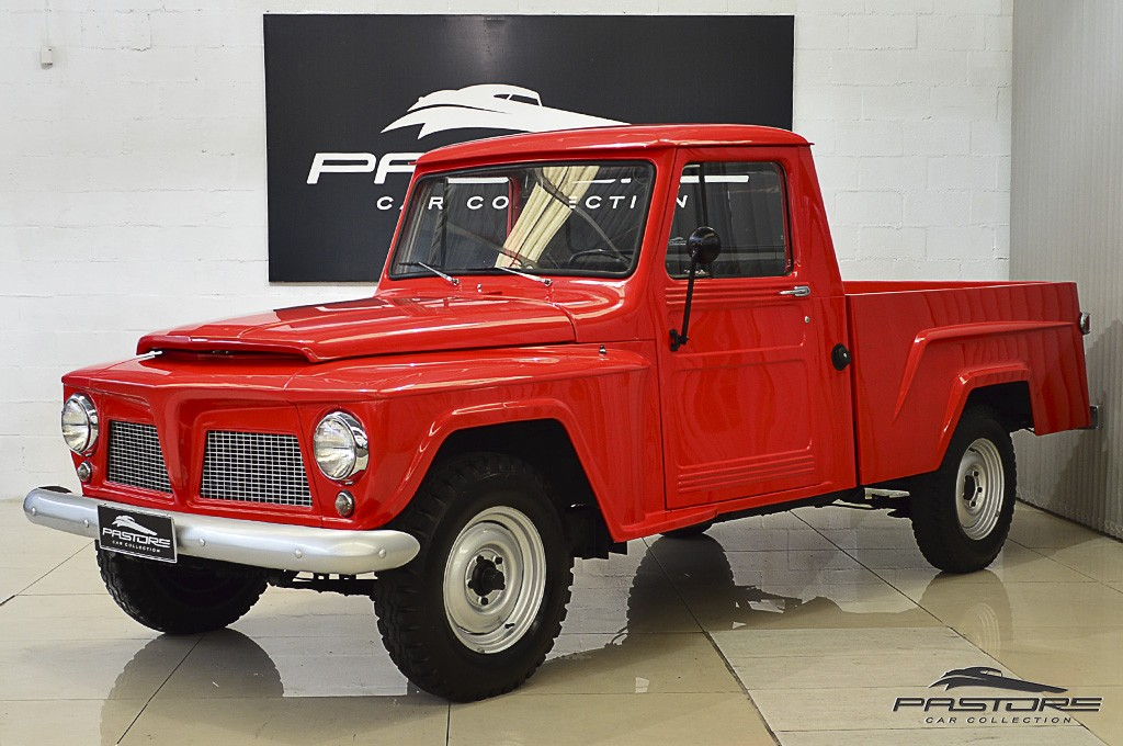 Willys Pick-up Jeep Ford F-75 1972 Motor Tudo (3)