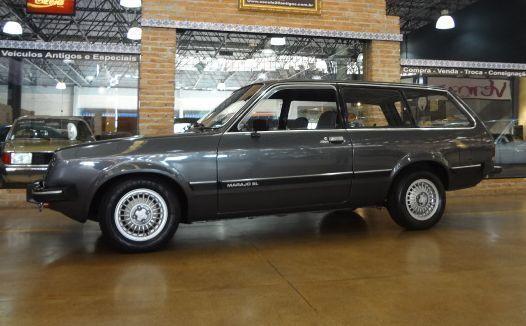 Chevrolet marajó Sl 1.6 Faixa preta 1982 Motor Tudo (29)