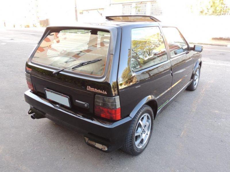 Fiat Uno 1.4 Turbo IE 1995 De 0 a 100 em incríveis 8,96 Segundos com quase 200 KM/h de velocidade final real