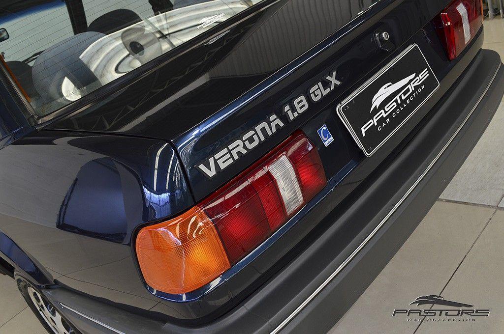 Ford Verona GLX 1.8 1992 O sedã do Escort, rápido e muito confortável.