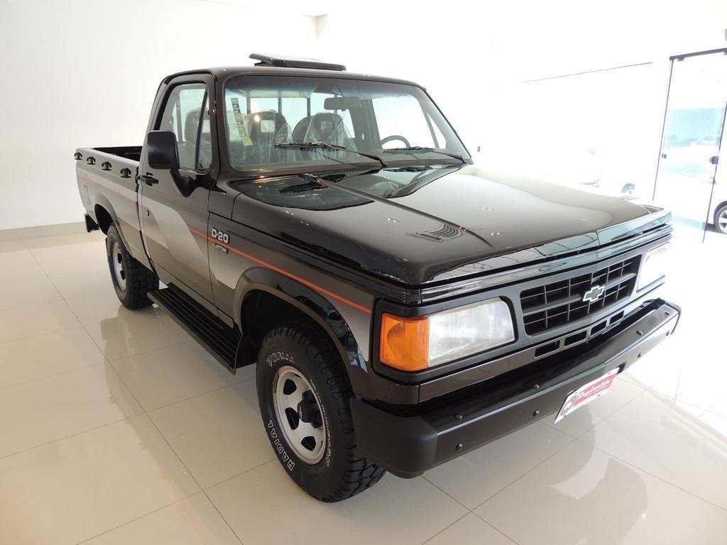 Chevrolet D-20 Custom 1995 Motor Tudo (1)
