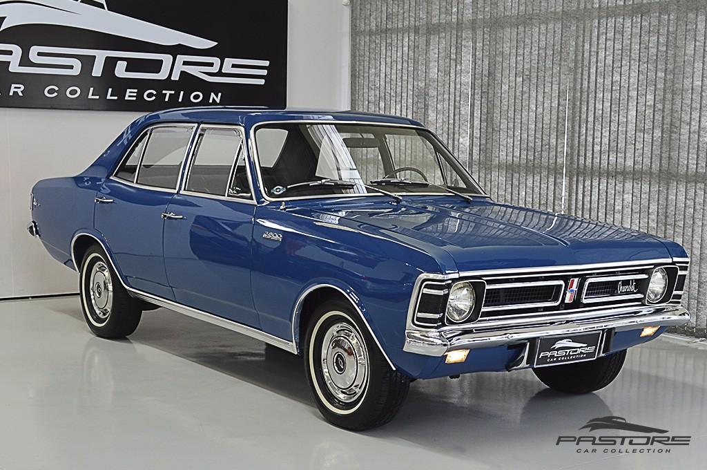 Chevrolet Opala de luxo 3800 1971 Motor Tudo (18)