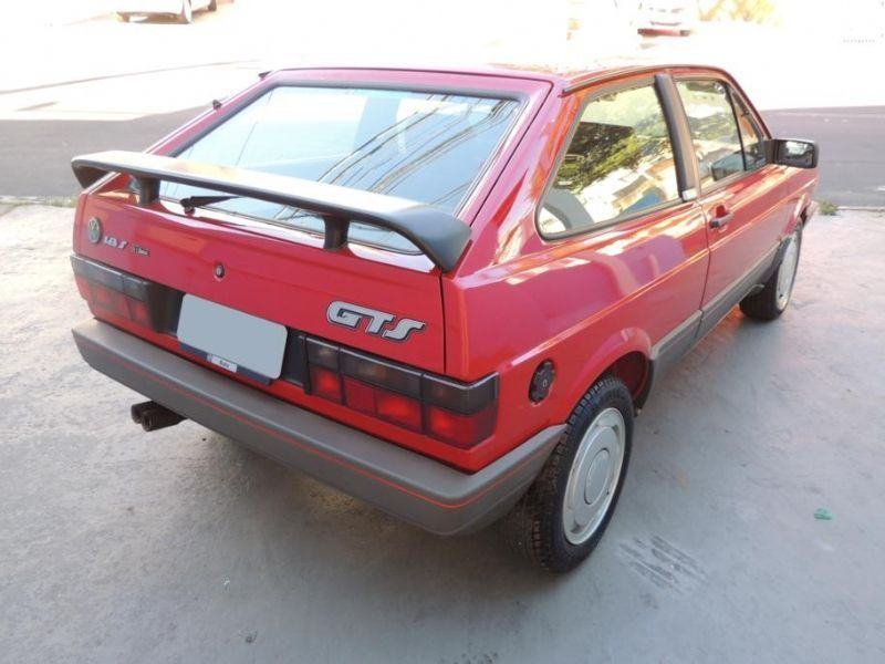 Volkswagen GOL GTS 1.8S 1994 O ultimo ano do valente Esportivo GTS
