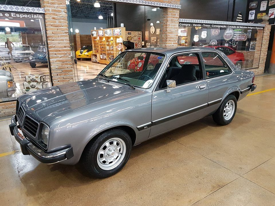 Chevrolet Chevette SL 1.4 1981 No Auge do Sucesso