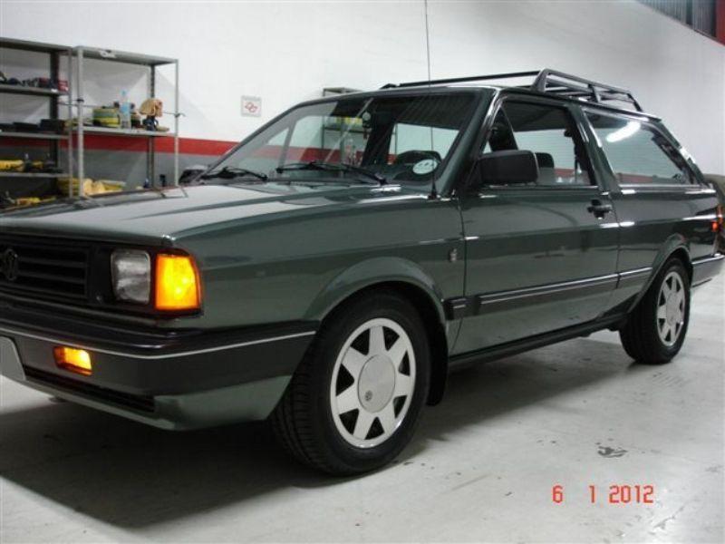 Volkswagen FOX SW 1.8 1988 Motor Tudo (2)