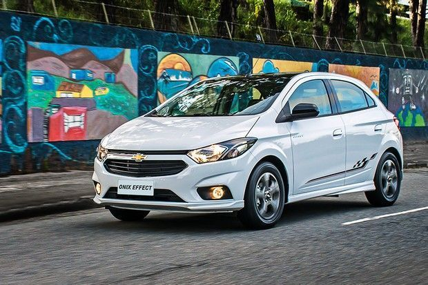 Chevrolet Onix Effect A Versao Esportiva Voltou Em 2018 Motor Tudo
