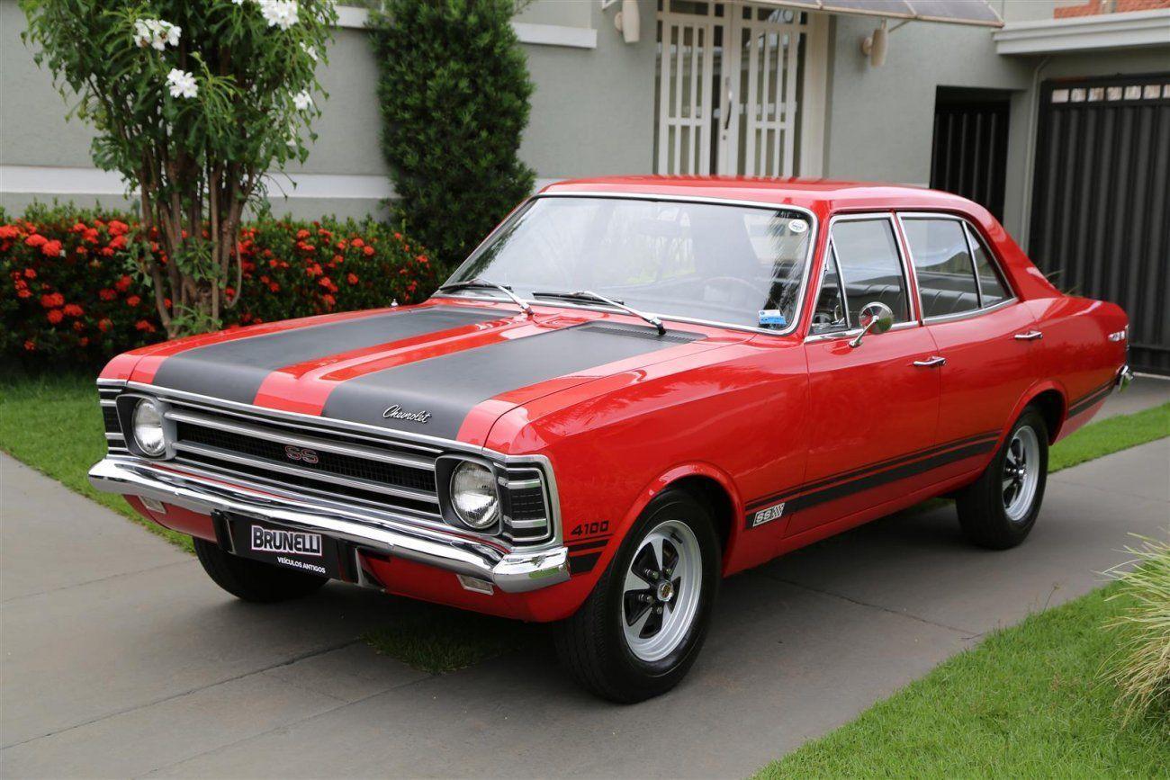 Chevrolet Opala Ss 4 Portas 4 1 1971 Seda A Versao Mais Rara