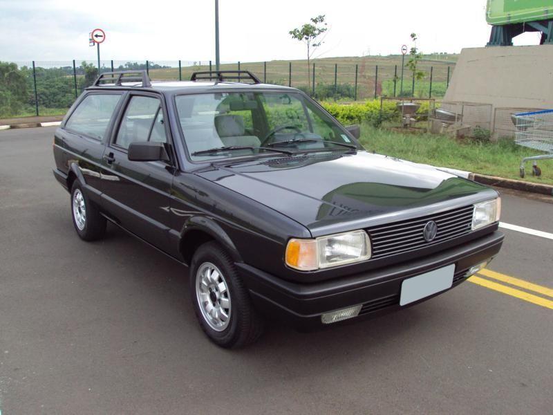 Volkswagen Parati GL 1.8 1992 Ano de difícil concorrência