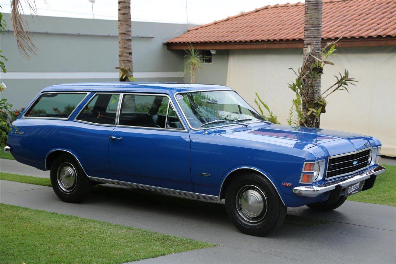 Chevrolet Caravan 4.1 AT 1977 Motor Tudo (1)