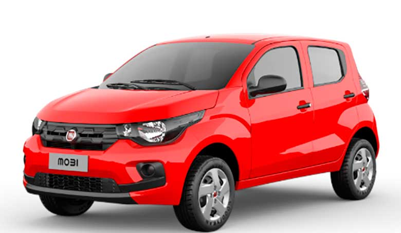 Fiat Mobi Easy 1.0 2019 a versão de entrada fica mais barata