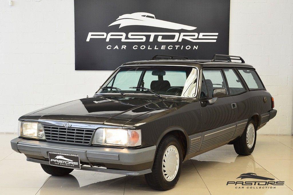 Chevrolet Caravan Diplomata SE 4.1 1990 Força e Elegância