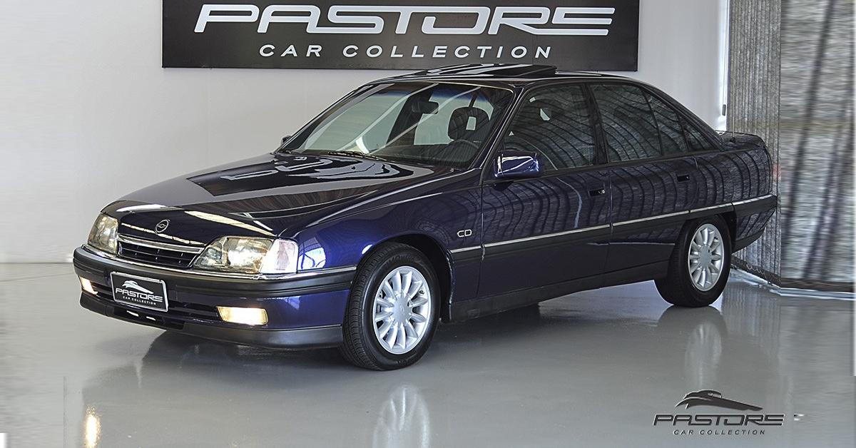Chevrolet Omega CD 4.1 1997 215 Km/h reais de velocidades final