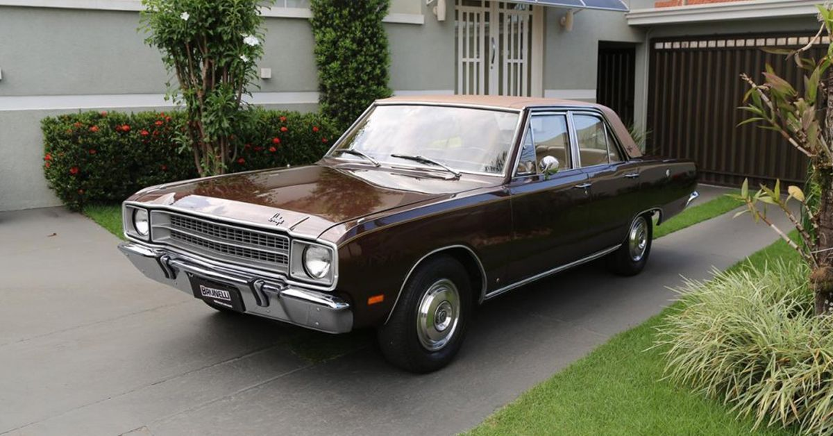 Dodge Dart Gran Sedan 5.2 V8 1974 Motor Tudo (1a)