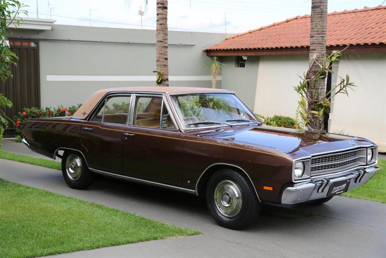Dodge Dart Gran Sedan V 8 1974 Um Verdadeiro Executivo Carros Antigos