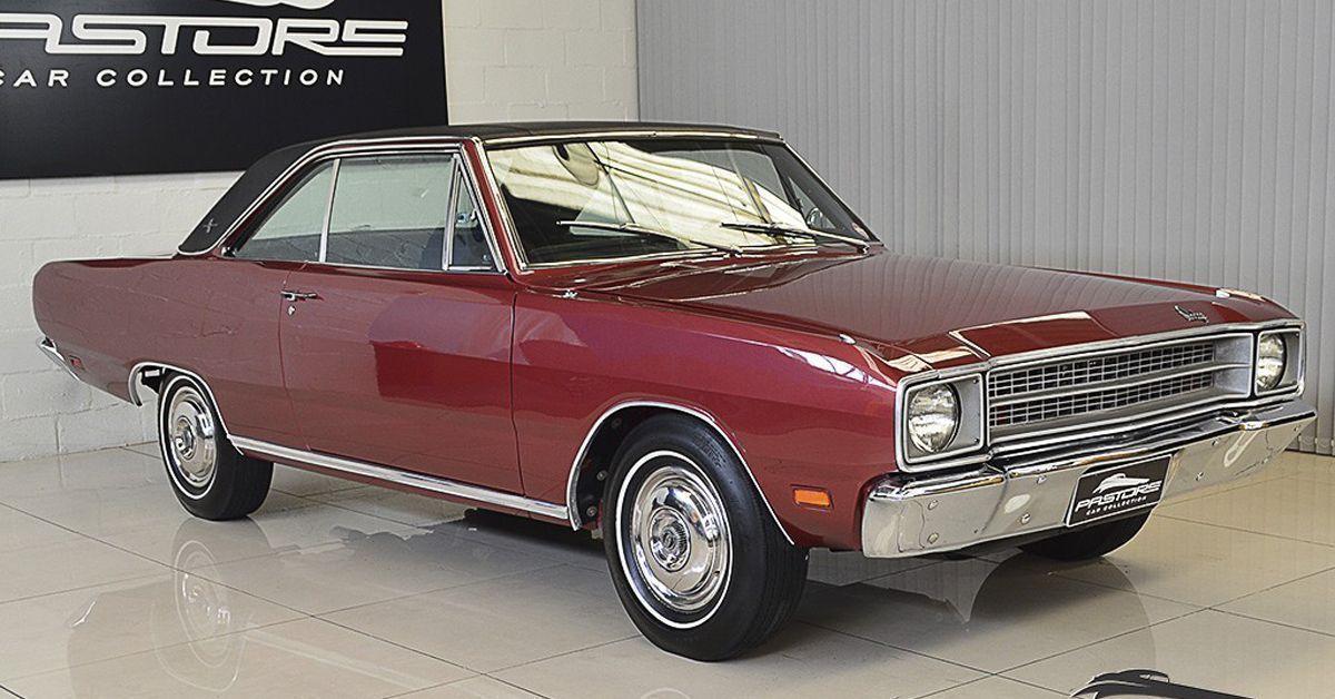 Dodge Dart Gran Coupe 1973 Um V8 Que E Pura Elegancia Carros Antigos