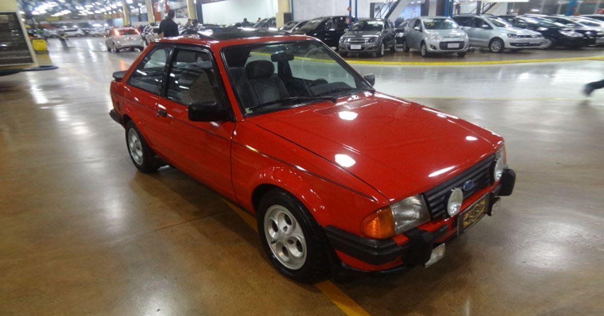 Escort XR3 1985 Motor Tudo (5)