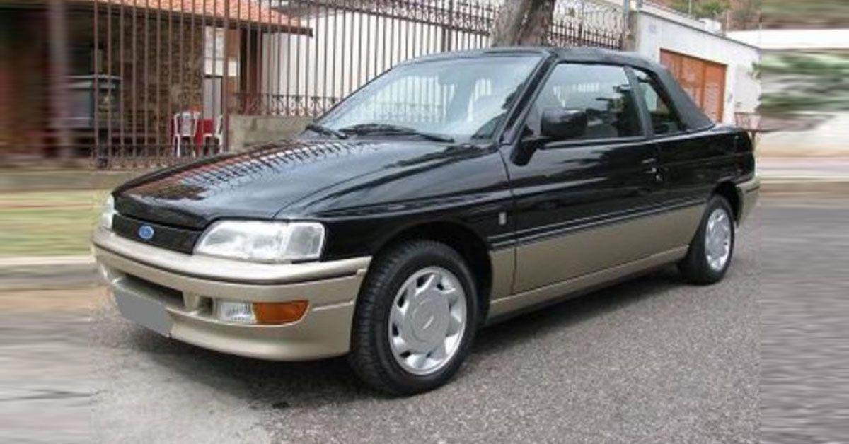 Escort XR3 2.0i Special Edition 1994 Motor Tudo (1)