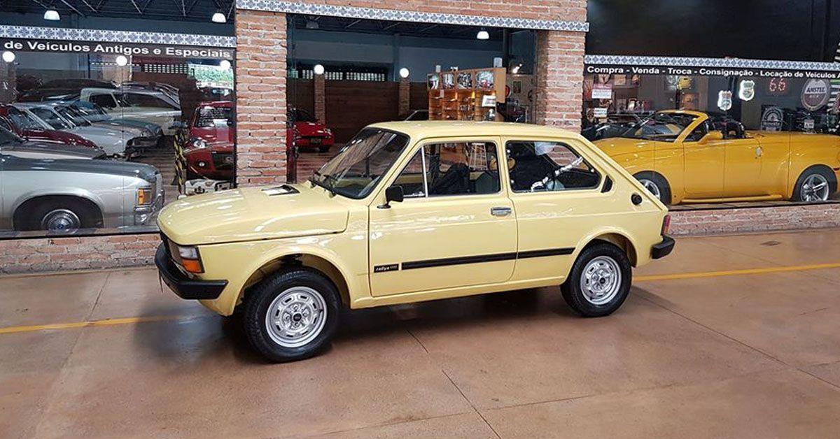 Fiat 147 Rallye 1.3 1980 O esportivo da montadora italiana