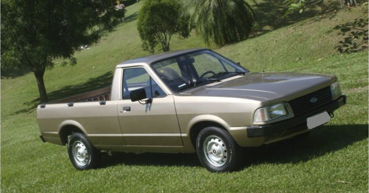 Ford Pampa 1.8 L 1992 A picape compacta mais emplacada
