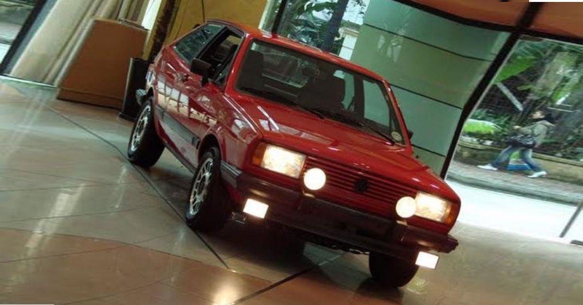 Gol GT 1.8 1985 Motor Tudo (3)