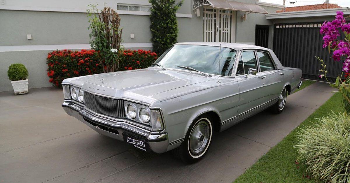 Landau Série Prata 1977 Câmbio Automático e Ar Condicionado