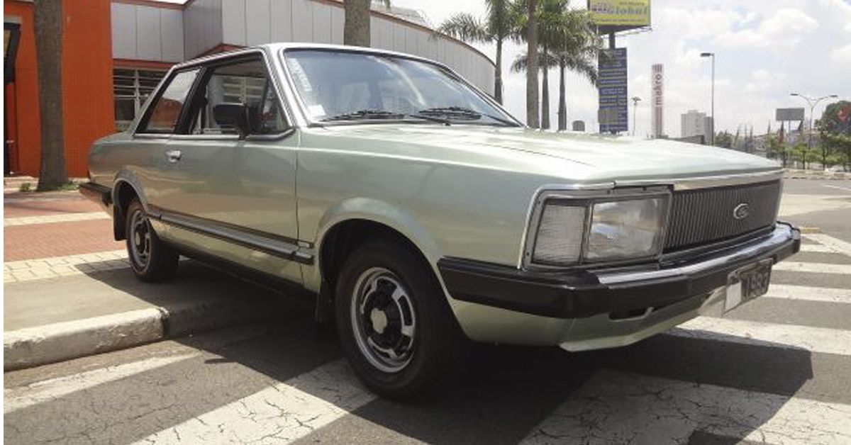 Ford Del Rey Série Prata 1983 Motor Tudo (17)