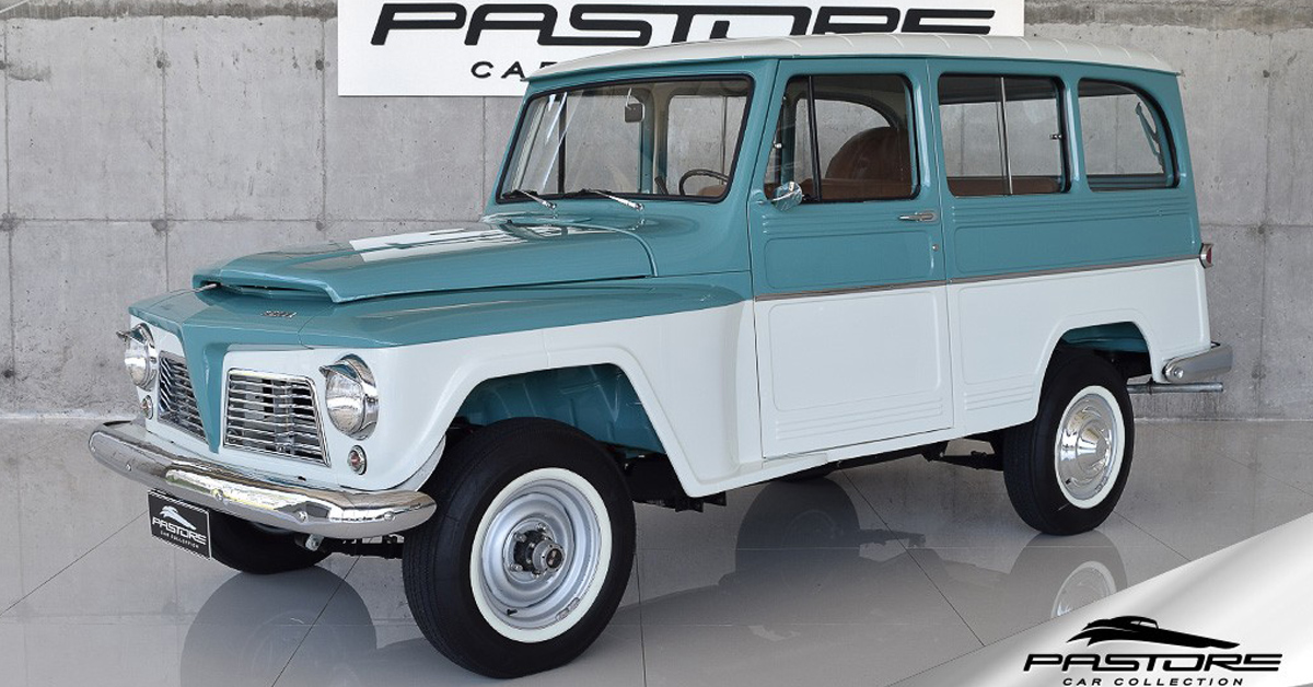 Ford Rural Willys 4x4 1969 Motor Tudo (18)