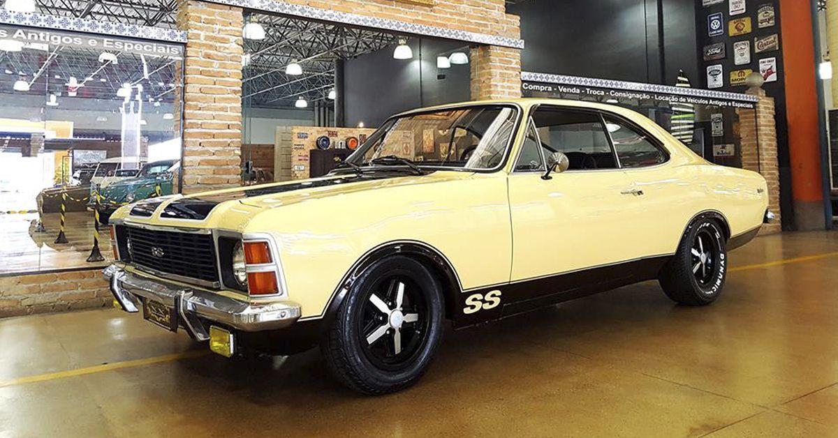 Opala SS 4.1 1977 Motor Tudo (2)
