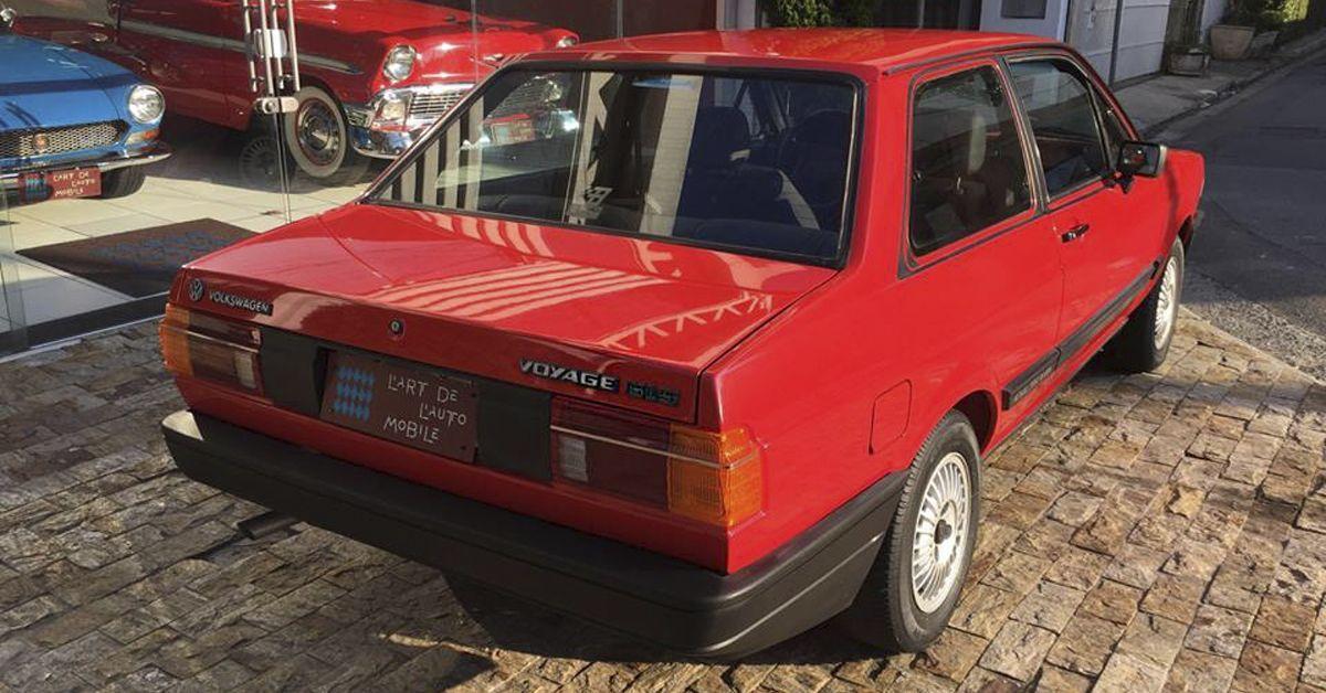 Voyage GLS 1.8 1987 Motor Tudo (6)