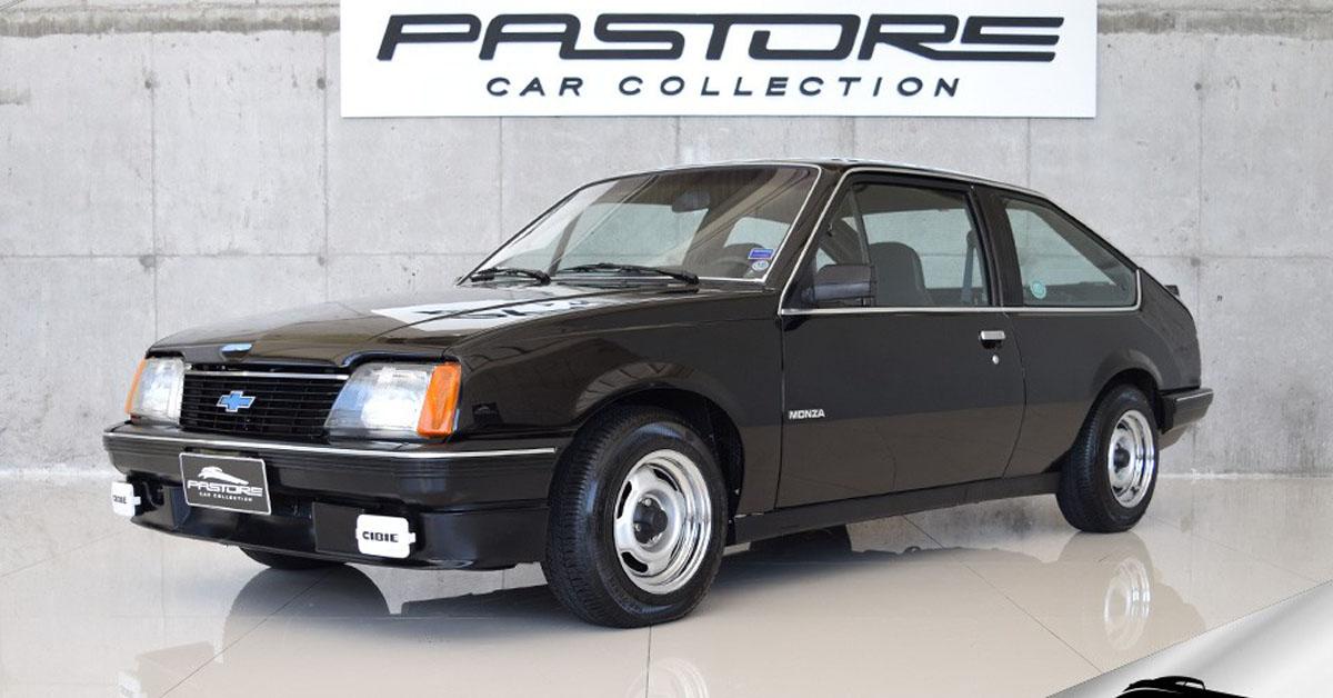 Chevrolet Monza Hatch 1.8 1983 versão de entrada