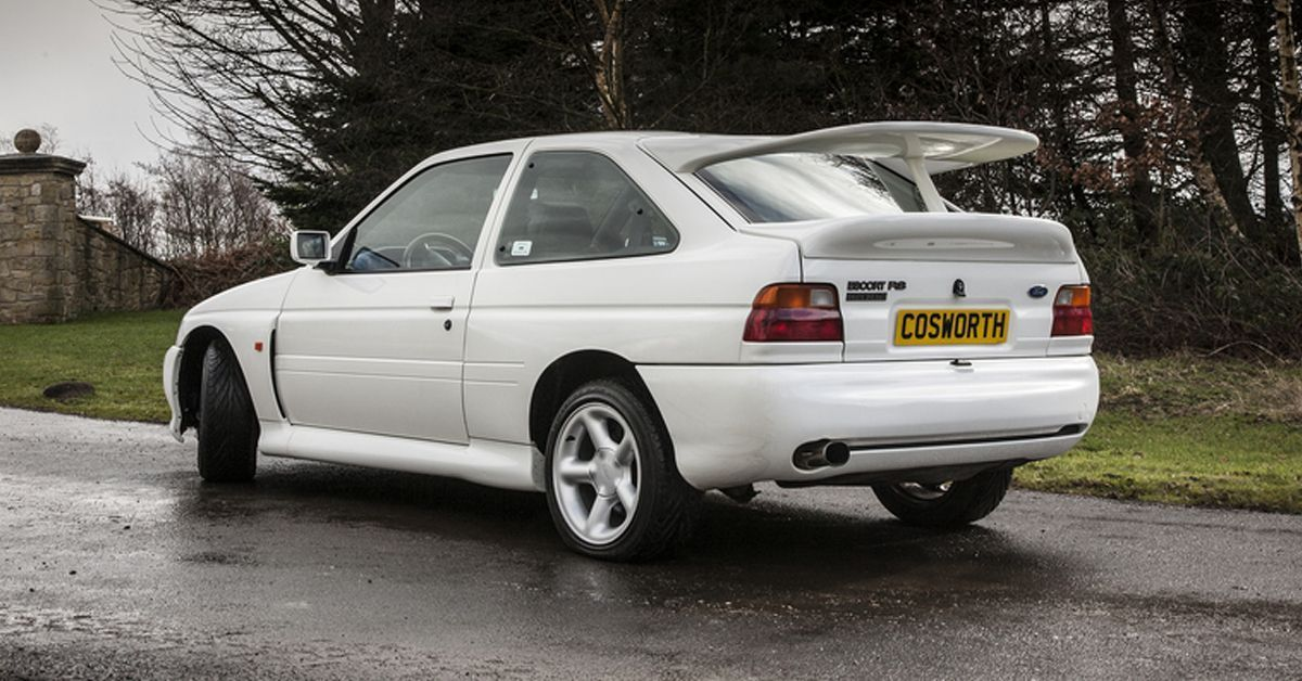 Ford Escort RS Coswoth 1993 Motor Tudo 1 (2)