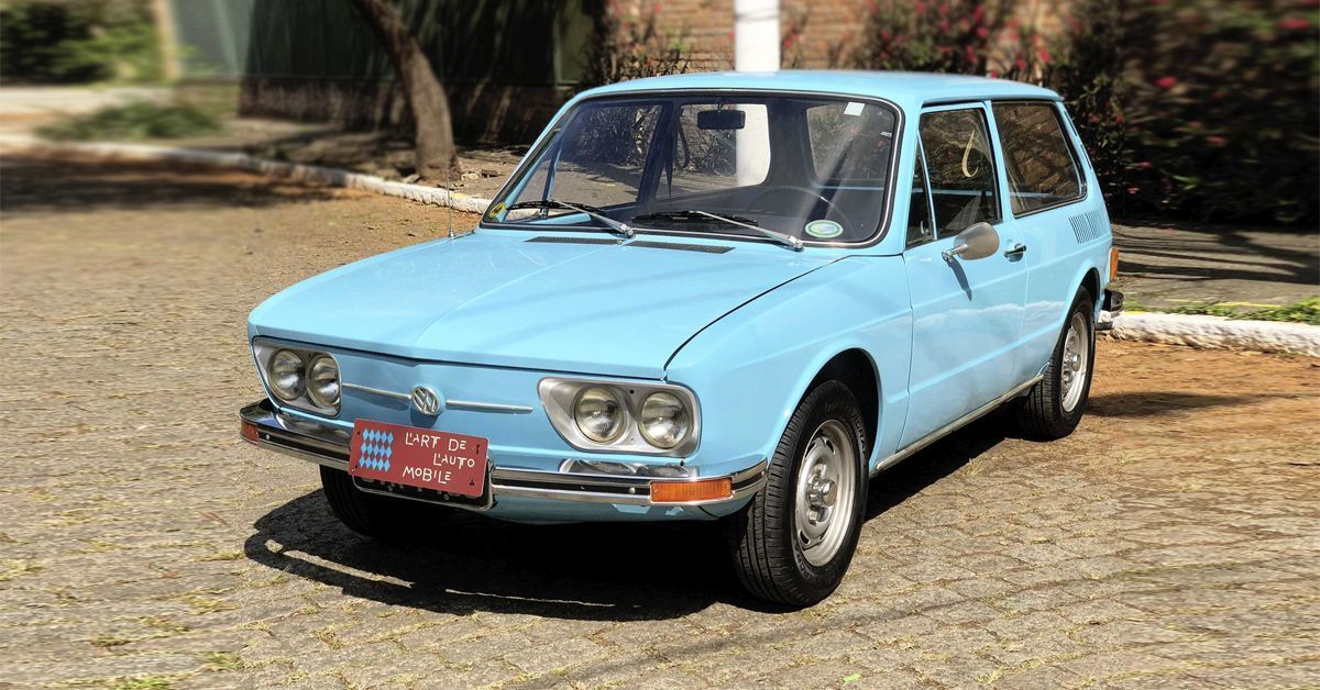 VW Brasilia 1974 no segundo ano de produção emplacou 82.893