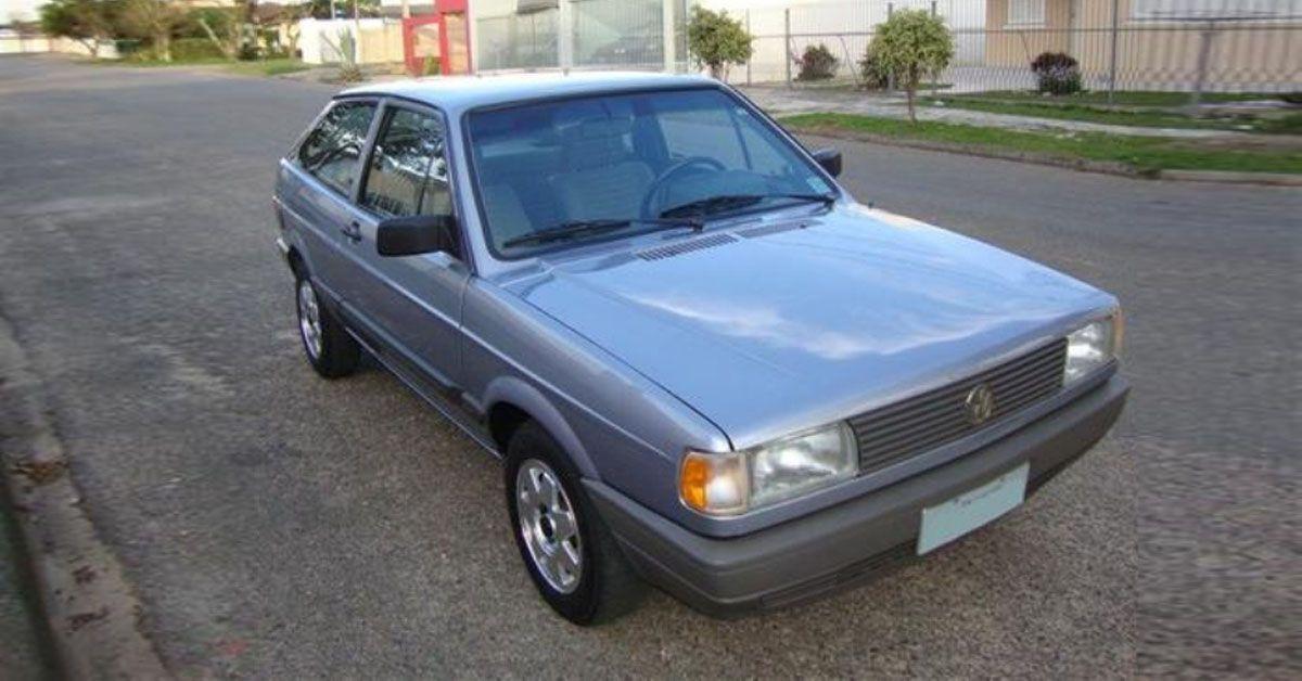 Volkswagen Gol GL 1.8 1991 ganha nova frente e novas rodas