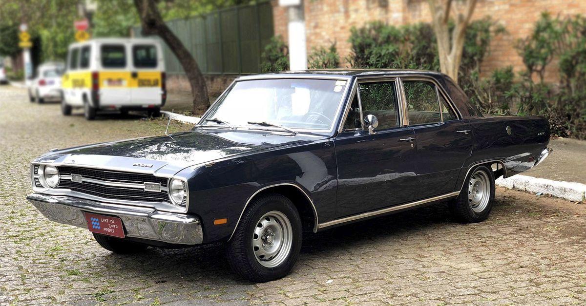 Dodge Dart V8 5.2 1972 um carro para poucos
