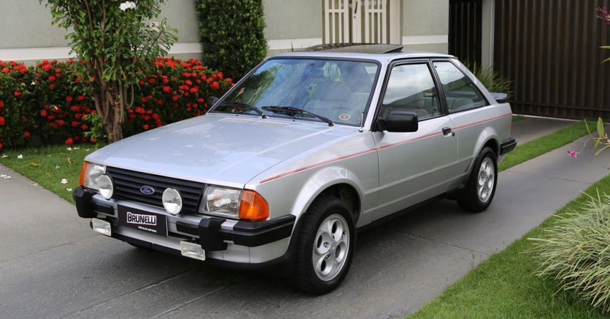 Escort XR3 1983-1984 Lançamento Motor Tudo (1)