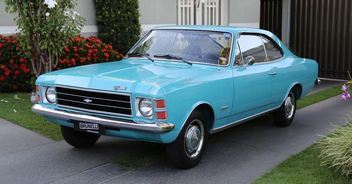Opala De Luxo 1977 Motor Tudo (3)