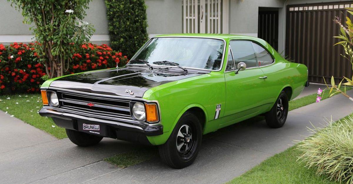 Opala SS 4 1974 Motor Tudo (1)