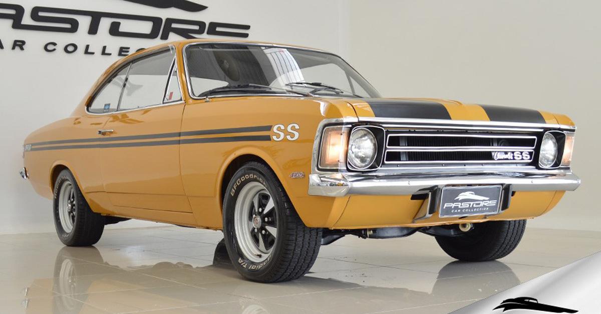 Opala SS 4.1 6cc 1974 Motor Tudo (31)