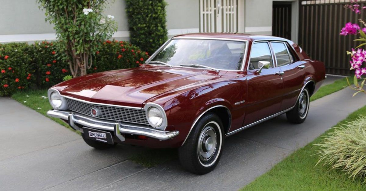 Ford Maverick Super Luxo 1975 Motor tudo (0)