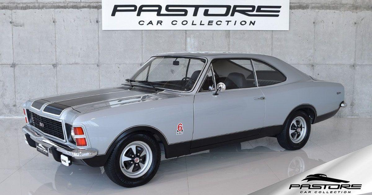 Opala SS 6 1976 Motor Tudo-1