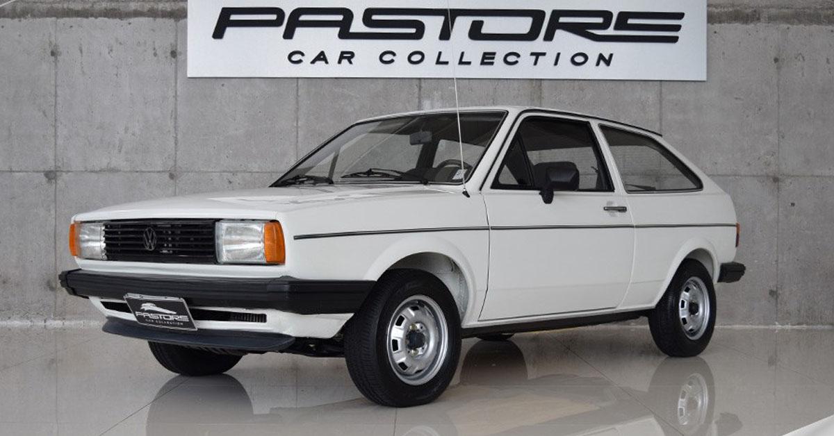 Volkswagen Gol LS 1985 1.6 o único ano com motor MD-270